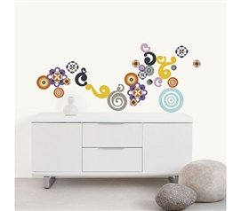 Decorate Your Residence Hall Dorm With Inspiring Spirals Laure - Peel N Stick