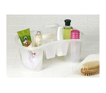 Dorm Shower Tote Clear