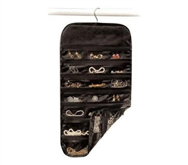 Useful & Space Saver - Hanging Jewelry Organizer - 37 Pockets