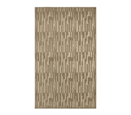 Create an Oasis of Tranquility - Allusion College Rug - Tan