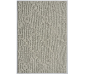 Quatrefoil College Rug - Silver Beige Dorm Essentials Dorm Room Decorations