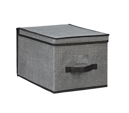 Gray College Storage Box
