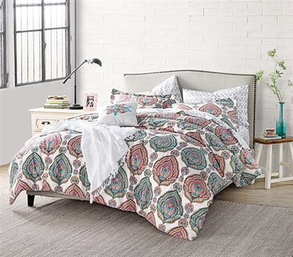 Serrafina Twin XL Comforter Twin XL Bedding Dorm Essentials