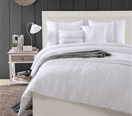 Hampton Twin XL Comforter Dorm Bedding Extra Long Twin Bedding