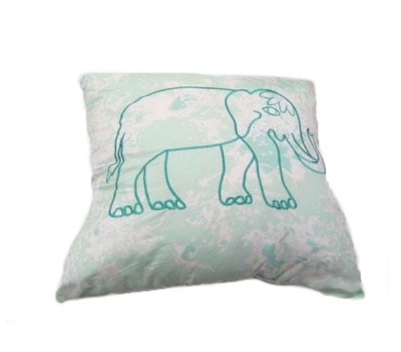 Calico Mint Decorative Pillow Mesmerizing College Decorative Pillows
