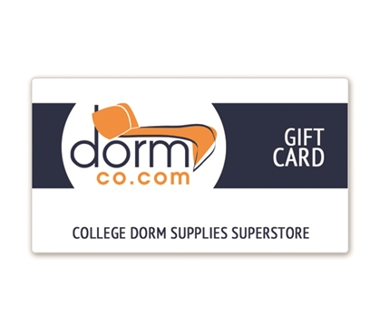 Dorm Co College Dorm Supplies Superstore Gift Card