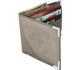 Durable! - Stainless Steel Wallet - Carry Cards And Cash