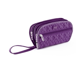 Keep Jewelry Safe - Flipper Jewelry Clutch - Purple - Pretty Color