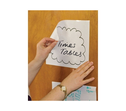 "Leave Notes Anywhere - Magic Whiteboard Sheets 8"" x 12"" (Pack of 20) - Practical For College"