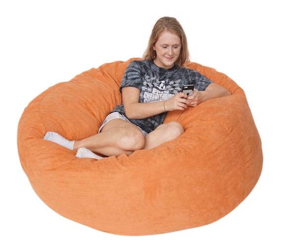 Comfort Cloud   Jumbo Dorm Foam Filled Seating Soft Dorm Room Seating Part 35