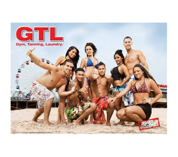 Jersey Shore - GTL College Dorm Room POSTER - College Wall Jersey ...
