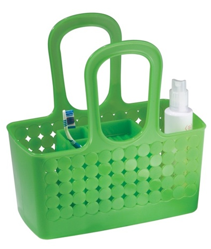 orbz divided shower caddy available in 3 colors