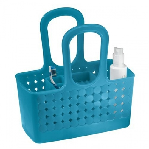 Orbz Divided Shower Caddy is a dorm room essential bath tote college ...