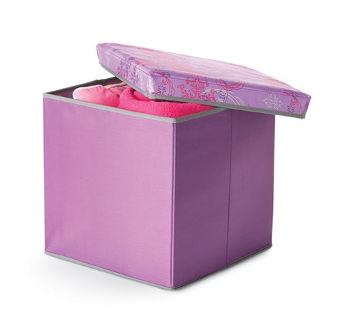 Storage Ottoman   Purple Fusion Part 16