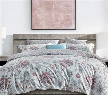 Cali Sunrise Twin XL Comforter Patterned Dorm Bedding Dorm Room Decor