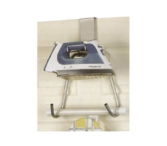 Genial Iron U0026 Ironing Board Holder Over The Door Dorm Space Saver