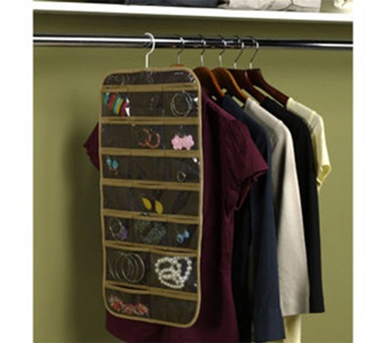 Jewelry and Stocking Organizer Set of 2 Dorm Room Closet