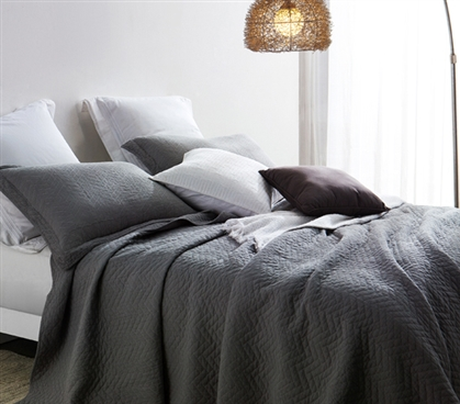 Alloy Cotton Virtue Textured Quilt - Twin XL