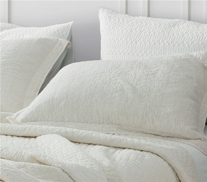 Jet Stream Cotton Virtue Textured Sham
