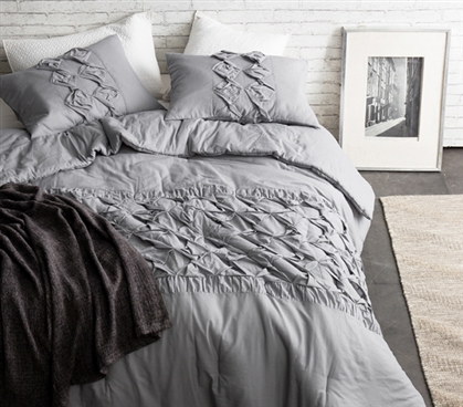 Alloy Cadence Textured Quilt - Cotton - Twin XL