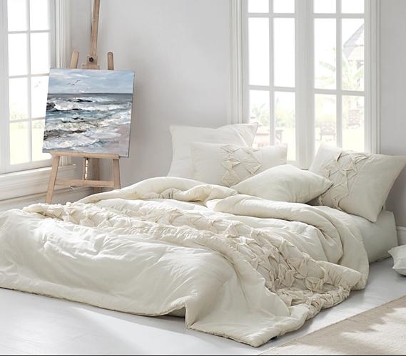 microfiber shop cottage hot beige coastal king textured deals set off bernadette cover stone duvet