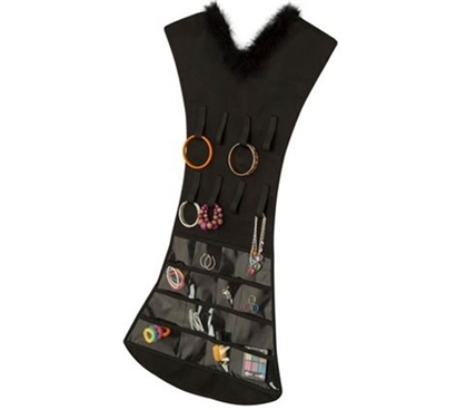 Hanging Dress Jewelry Holder