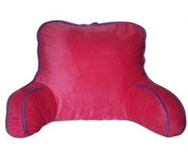 Pink/Purple Tranquil Bedrest - College Back Cushion
