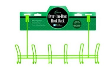 Over Door Hooks - Powder-Coated Hanging Hooks (Available In Multiple Colors)
