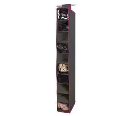 10 Shelf Dorm Closet Vertical Hanger