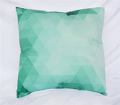 Pixelated - Yucca - Cotton Throw Pillow