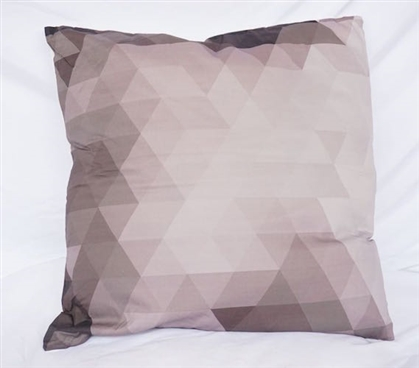 Pixelated - Alloy - Cotton Throw Dorm Pillow