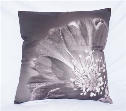 Blooming Flower Nature Cotton Throw Pillow Alloy Dorm Decor