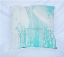 Twin XL Bedding Drip Paint Yucca Cotton Throw Pillow