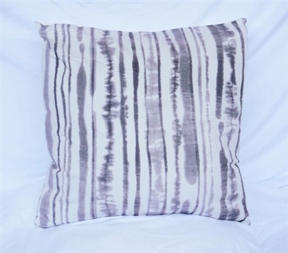 Ink Blot Lines Dorm Cotton Throw Pillow Alloy College Bedding