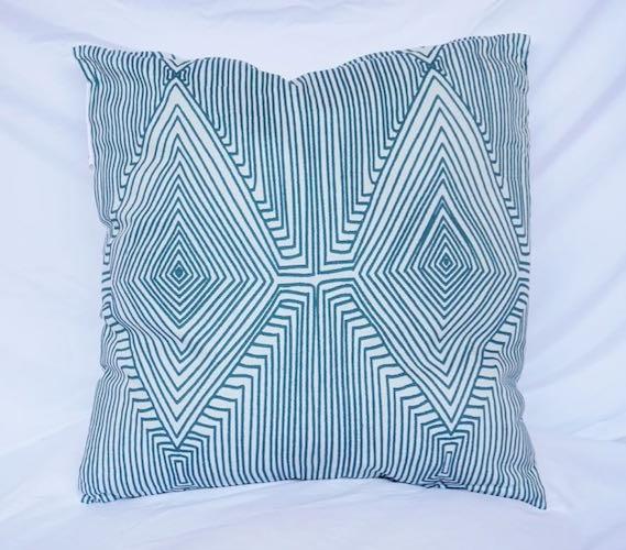 Decorative Dorm Cotton Throw Pillow Mirror Image Design Jasper Twin Awesome Extra Long Decorative Pillow