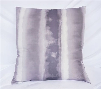 Spectrum - Alloy - Cotton Throw Pillow