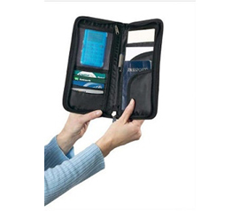 Keep All Your Important Documents - College Travel Documents Organizer - Stay Organized Abroad