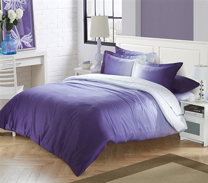 Ombre Purple Twin XL Comforter Extra Long Twin Comforter Dorm Room Decor