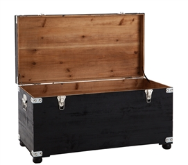 Cushion Seater Trunk - Black