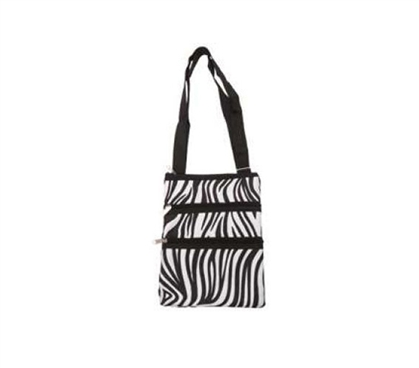 Zebra Print Campus Bag