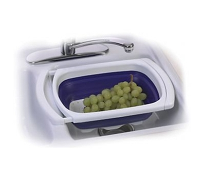 Collapsible Over the Sink Colander College dorm room accessories