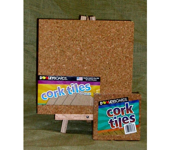 Cork Tiles Are Mini Squares Placed On