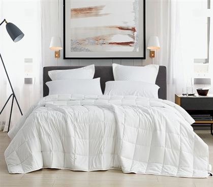 Chommie - The Oversized Weighted Twin XL Comforter - White