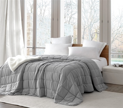 Chommie - The Oversized Weighted Twin XL Comforter - Alloy
