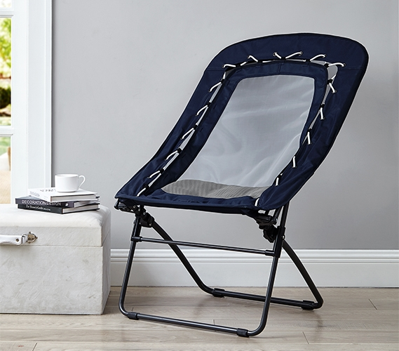 decorative folding chairs.htm sosik bungee mesh lounger chair nightfall navy  sosik bungee mesh lounger chair