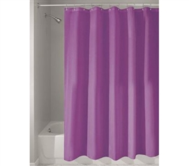 Purple College Shower Curtain Or Liner