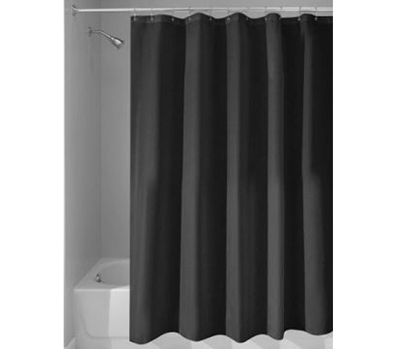 Black College Shower Curtain Or Liner Dorm Necessities Room Decor