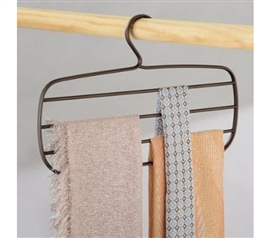 Bronze Scarf Hanger Dorm Storage Solutions