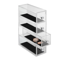 Slim Drawer Jewelry Organizer