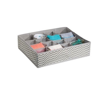 Accessory Organizer - 16 Compartments Dorm Storage Solution Dorm Organization